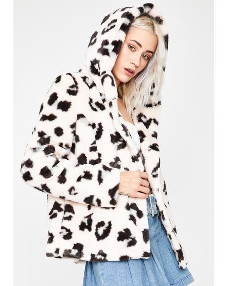 Chase The Thrill Leopard Jacket