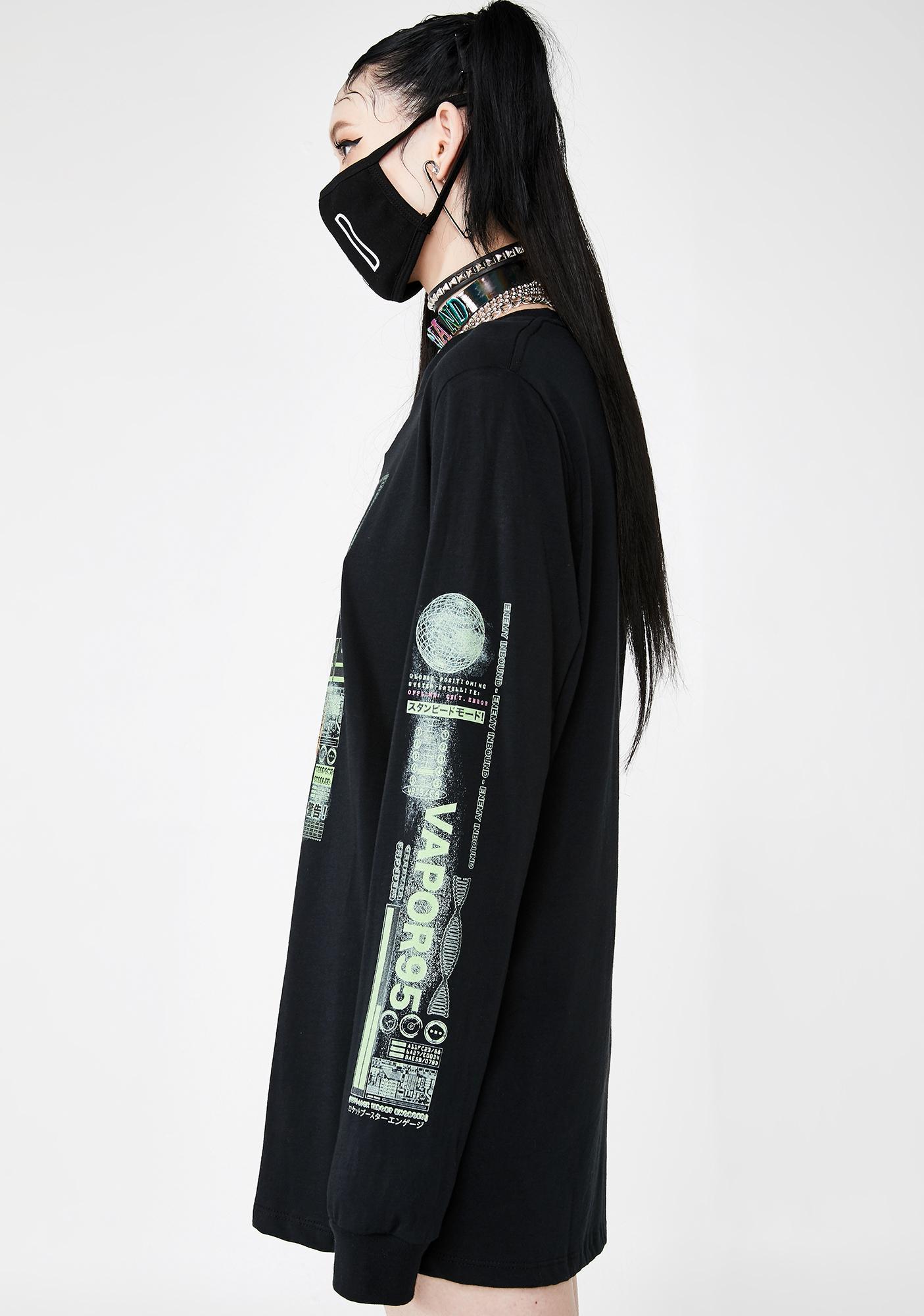Vapor95 Mech Suit Long Sleeve Tee