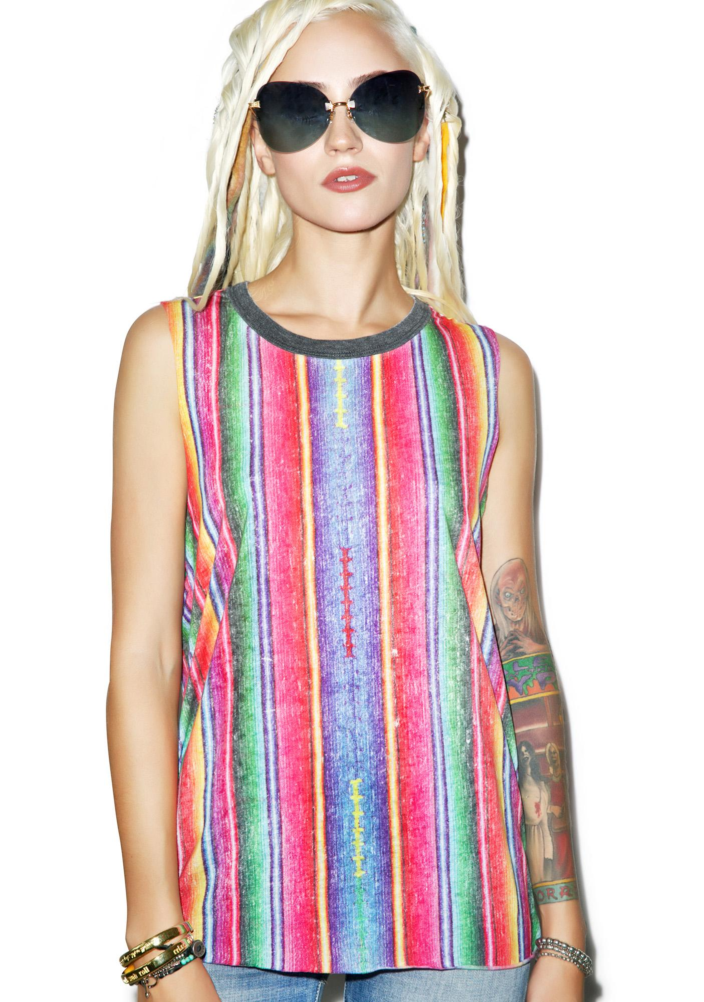 Chaser Guatemalan Blanket Muscle Tee