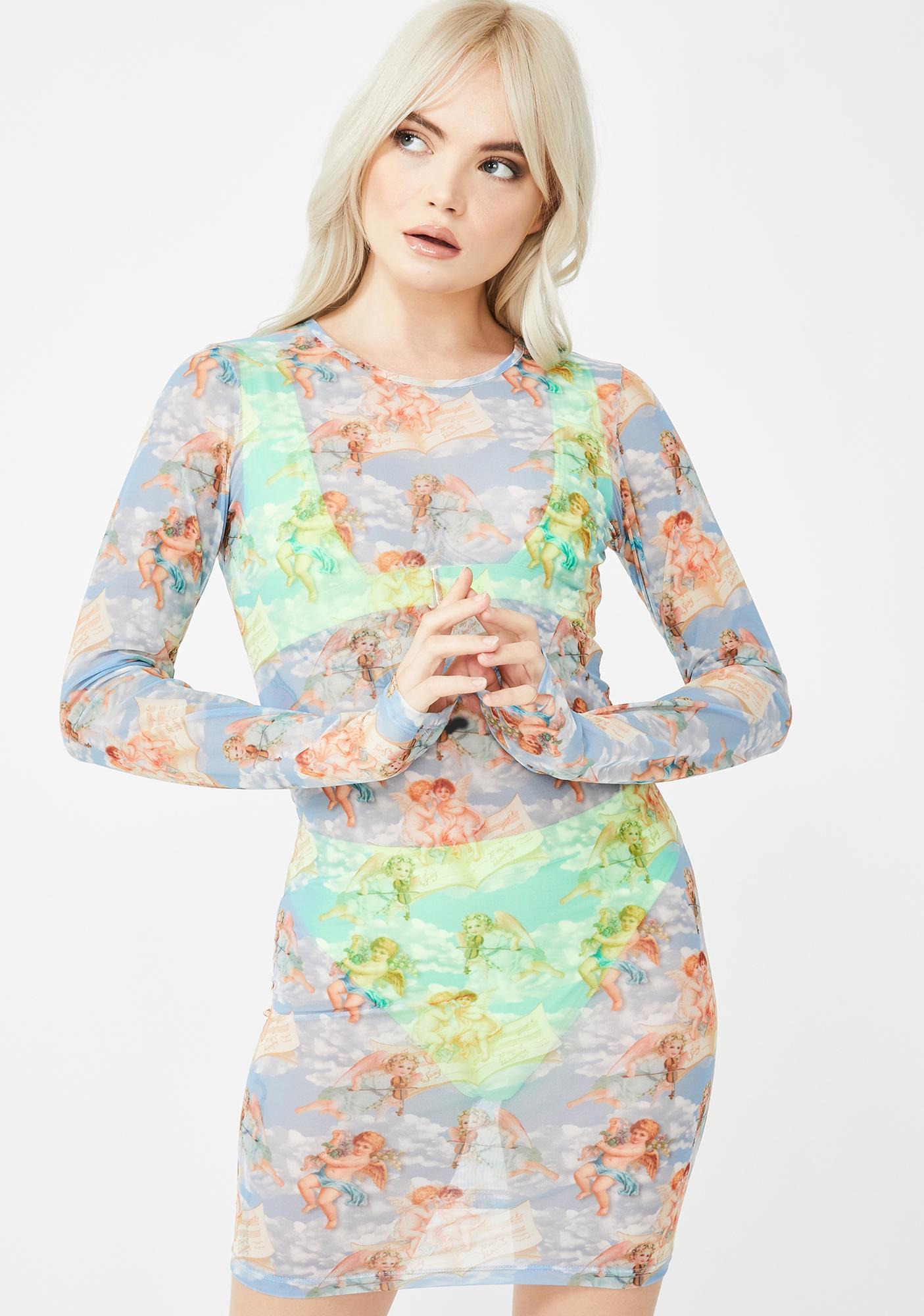 Kiki Riki Godly Glitz Mini Dress