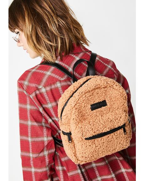 Reformed Behavior Fleece Backpack