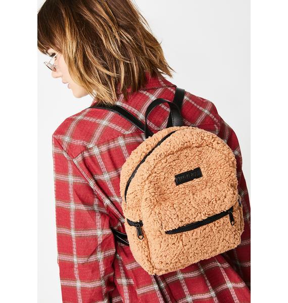 Current Mood Reformed Behavior Fleece Backpack