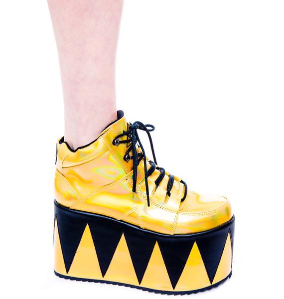 Y.R.U. Qozmopolitan Platform Shoes