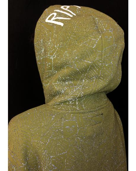 Nermal Leaf 3M Reflective Hoodie