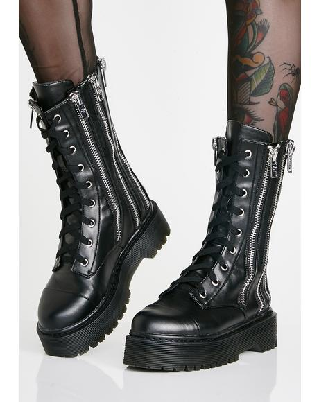 Don't Ask Combat Boots