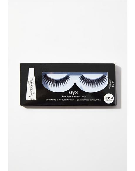 Review Fabulous Lashes & Glue