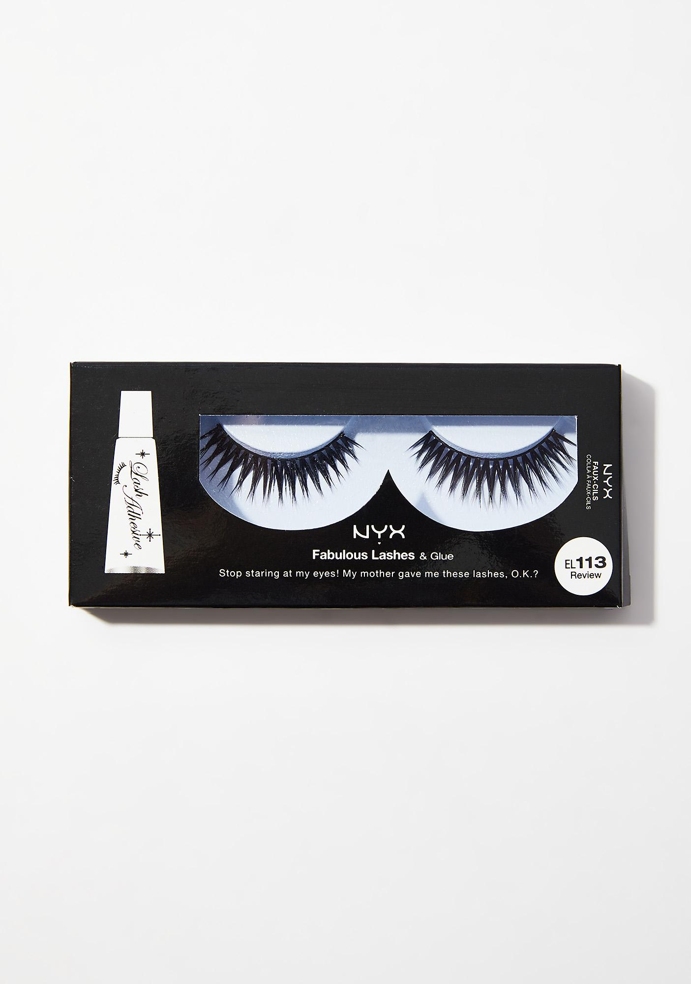 NYX Review Fabulous Lashes & Glue