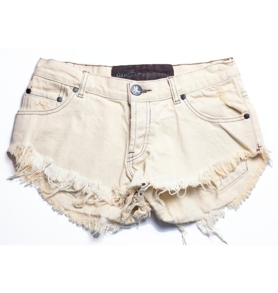 One Teaspoon Original Bonita Denim Shorts