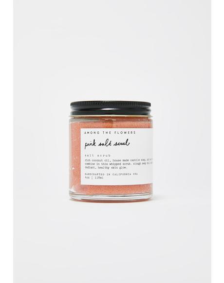Pink Salt Scrub