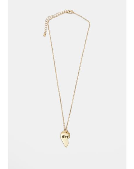 Bish Babes Friendship Necklaces