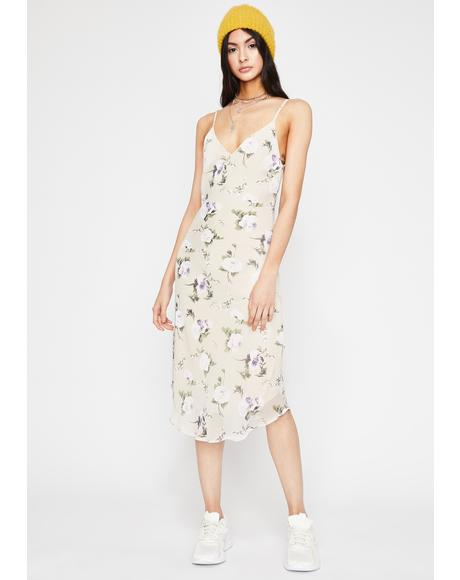 Spring Awakening Midi Dress
