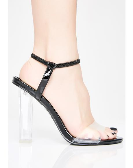 Lady Mystery Clear Heels