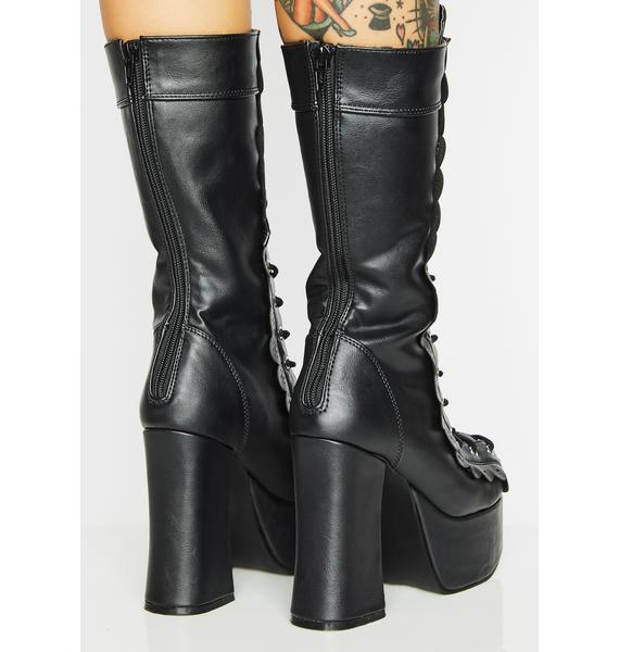 Demonia Devilina Platform Boots