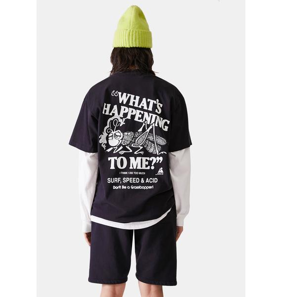 Surf is Dead What's Happening Graphic Tee
