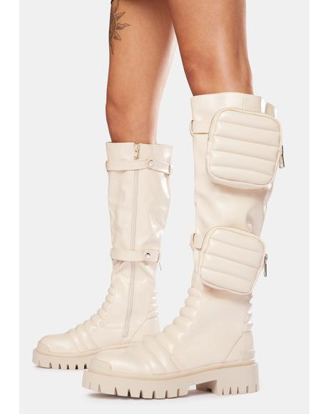 Bone Tayla Knee High Boots