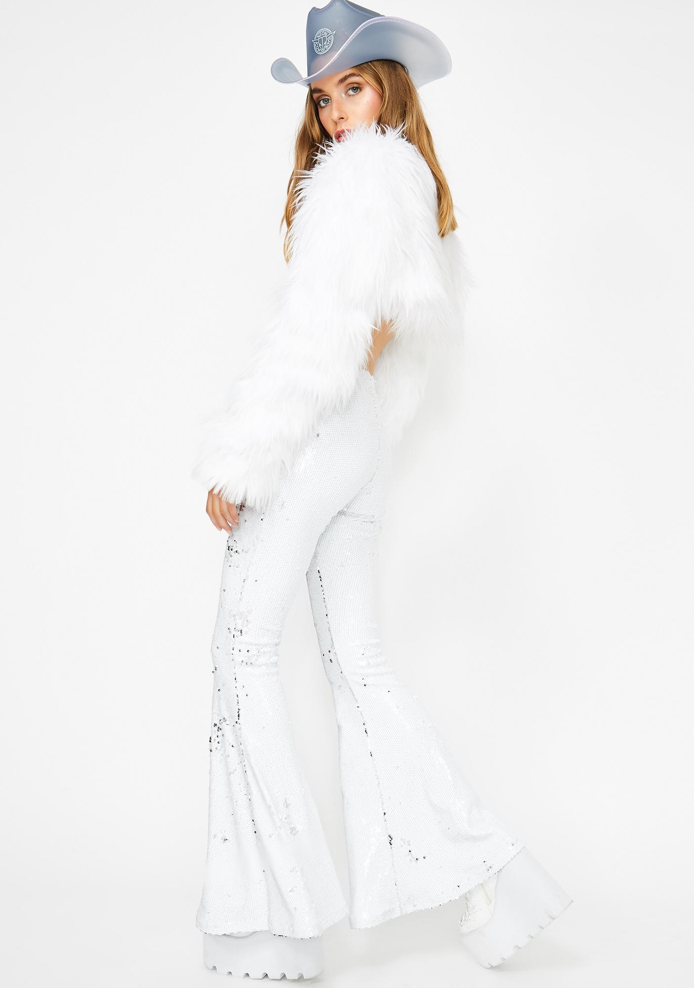 Club Exx Miss Primetime Sequin Flares