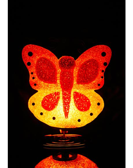 Too Fly Butterfly Lamp