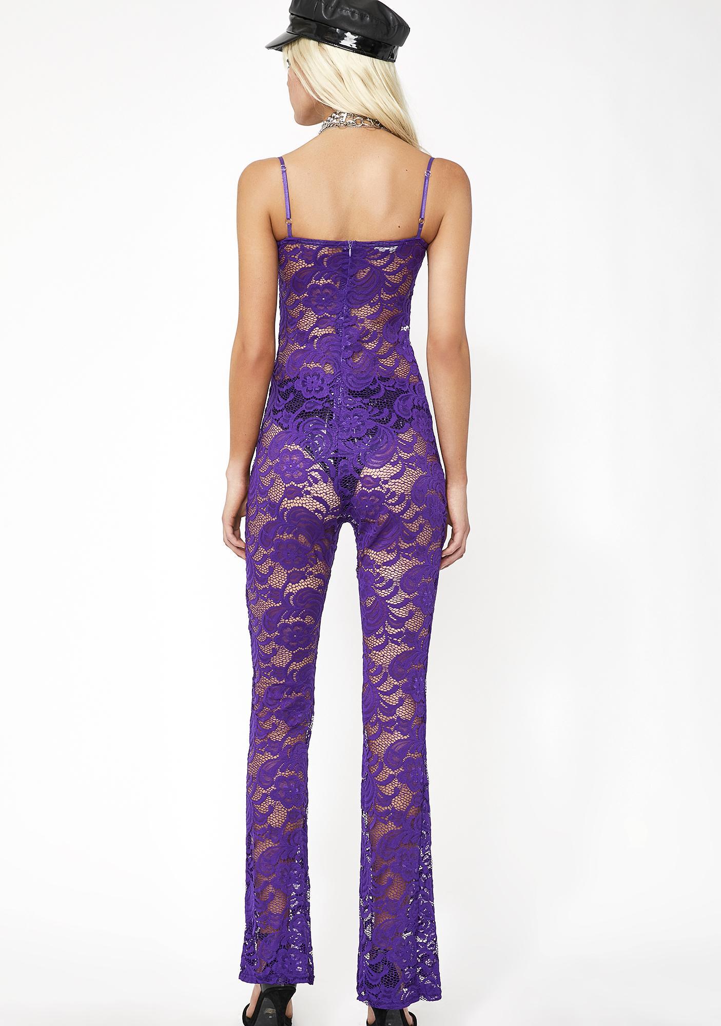 True Queen Lace Jumpsuit