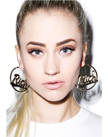 Rich Hoop Earrings