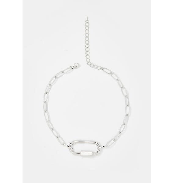 Chrome Better Werk Bish Chain Necklace