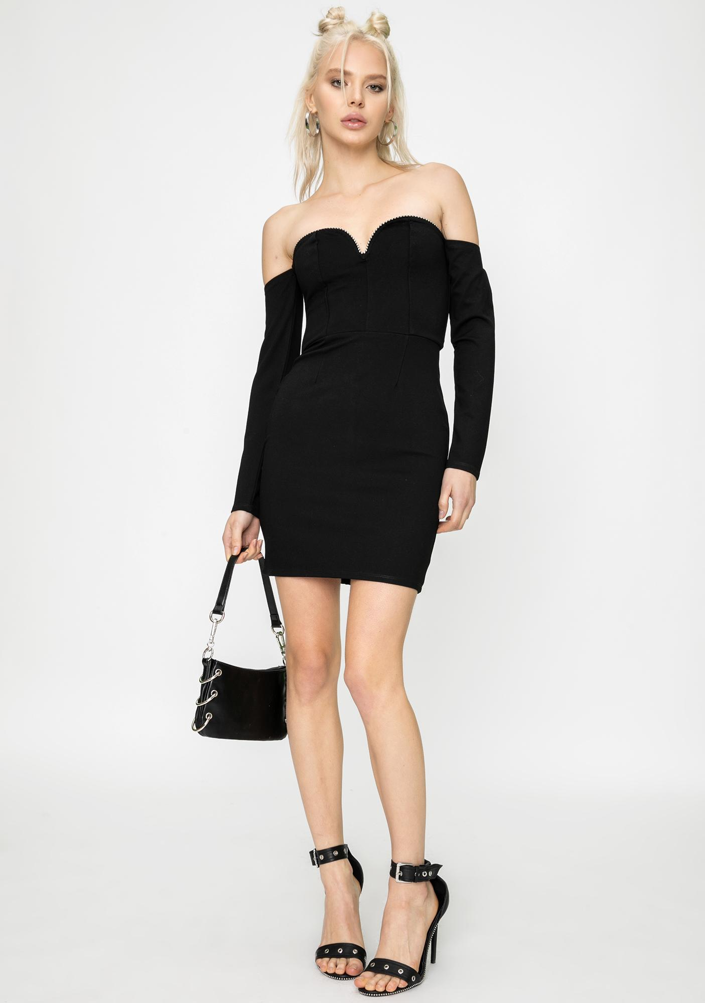 STEELE City Slick Mini Dress