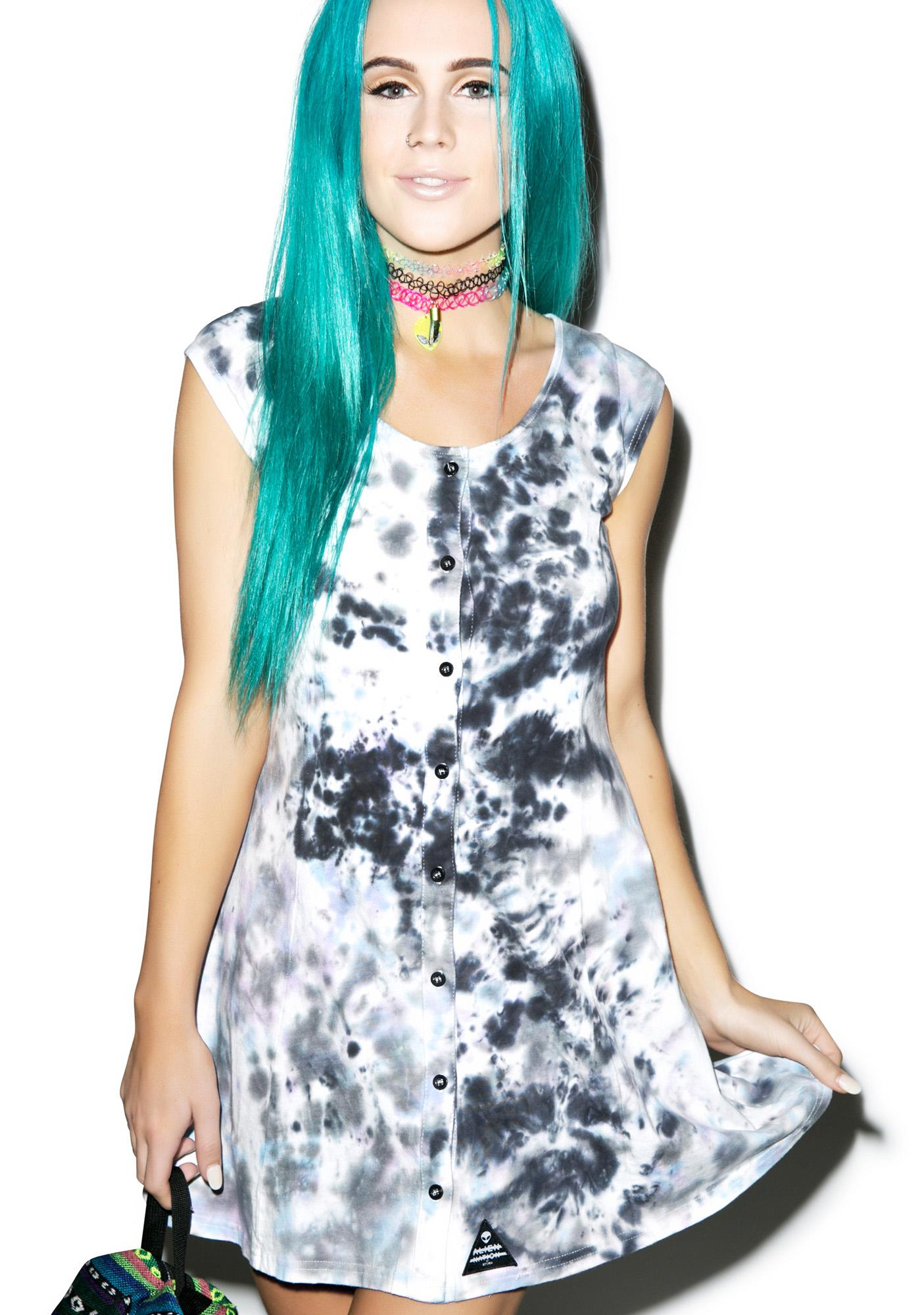 Disturbia Dissolve Tie-Dye Dress