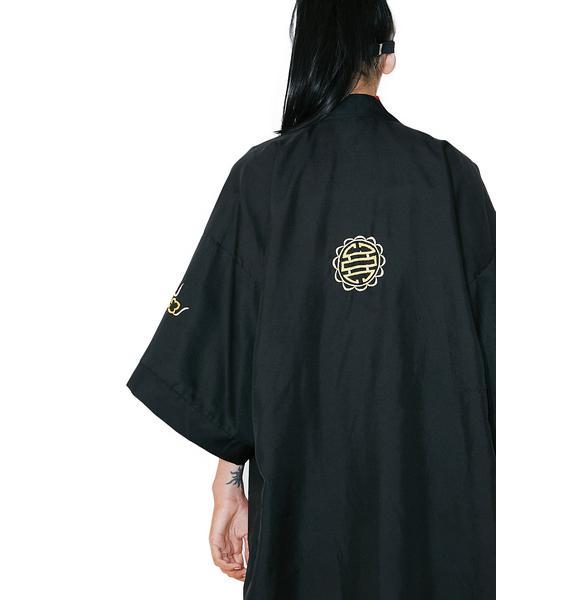 Vintage Embroidered Kimono