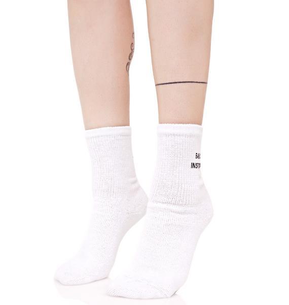 Working Girls Co Basic Instinct Socks