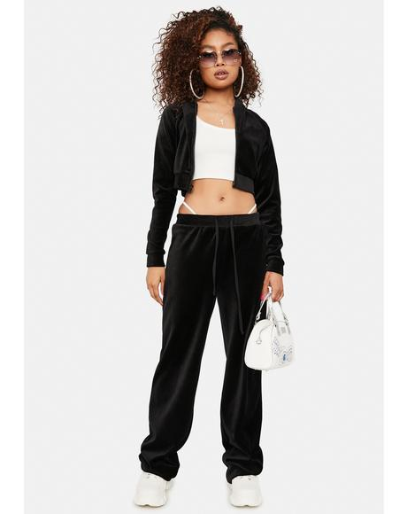 Y2K Dreams Velour Tracksuit