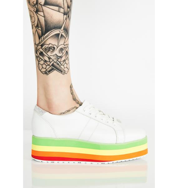 Volatile Shoes Jukebox Rainbow Sneakers