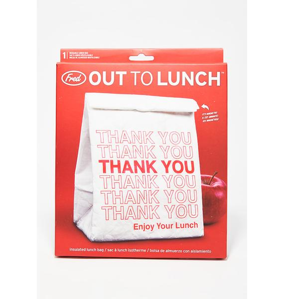 Out To Lunch Reusable Bag
