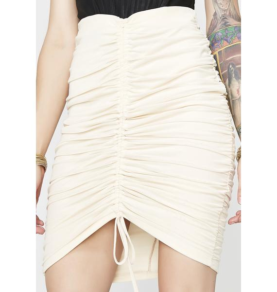 Nude Kiss It Better Bodycon Skirt