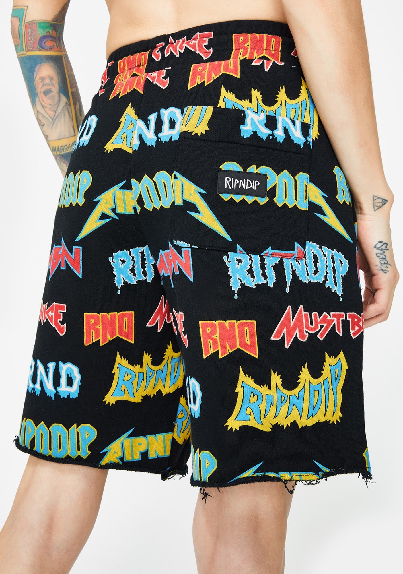 RIPNDIP Rock N' Nerm Sweat Shorts