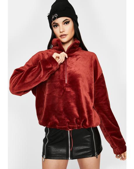 So Unfazed Pullover Jacket