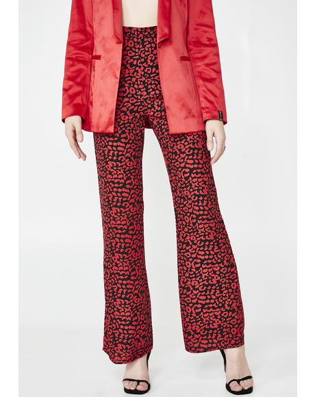 In The Wild Leopard Pants
