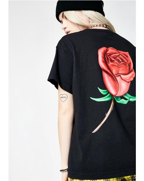 Slauson Rose Box Tee