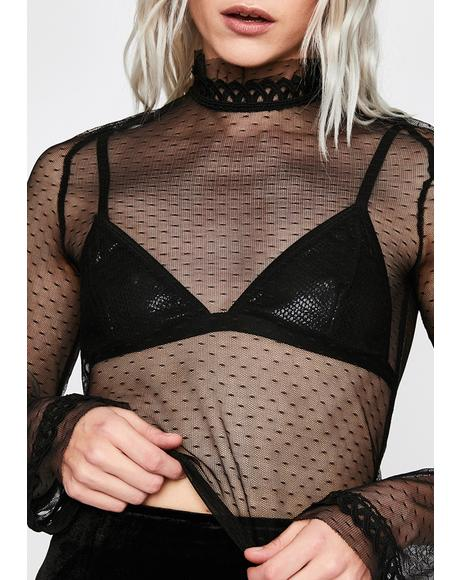 Twilight Rendezvous Mesh Top