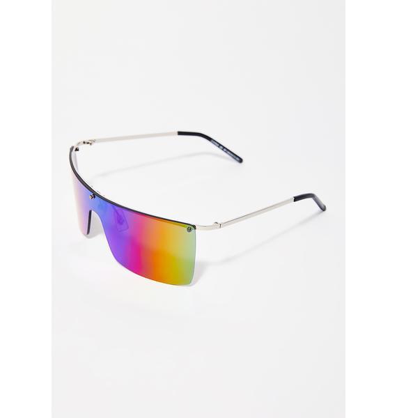 On Blocked Shield Sunglasses