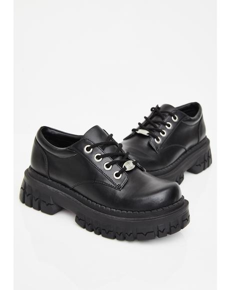 Teen Craft Oxford Shoes