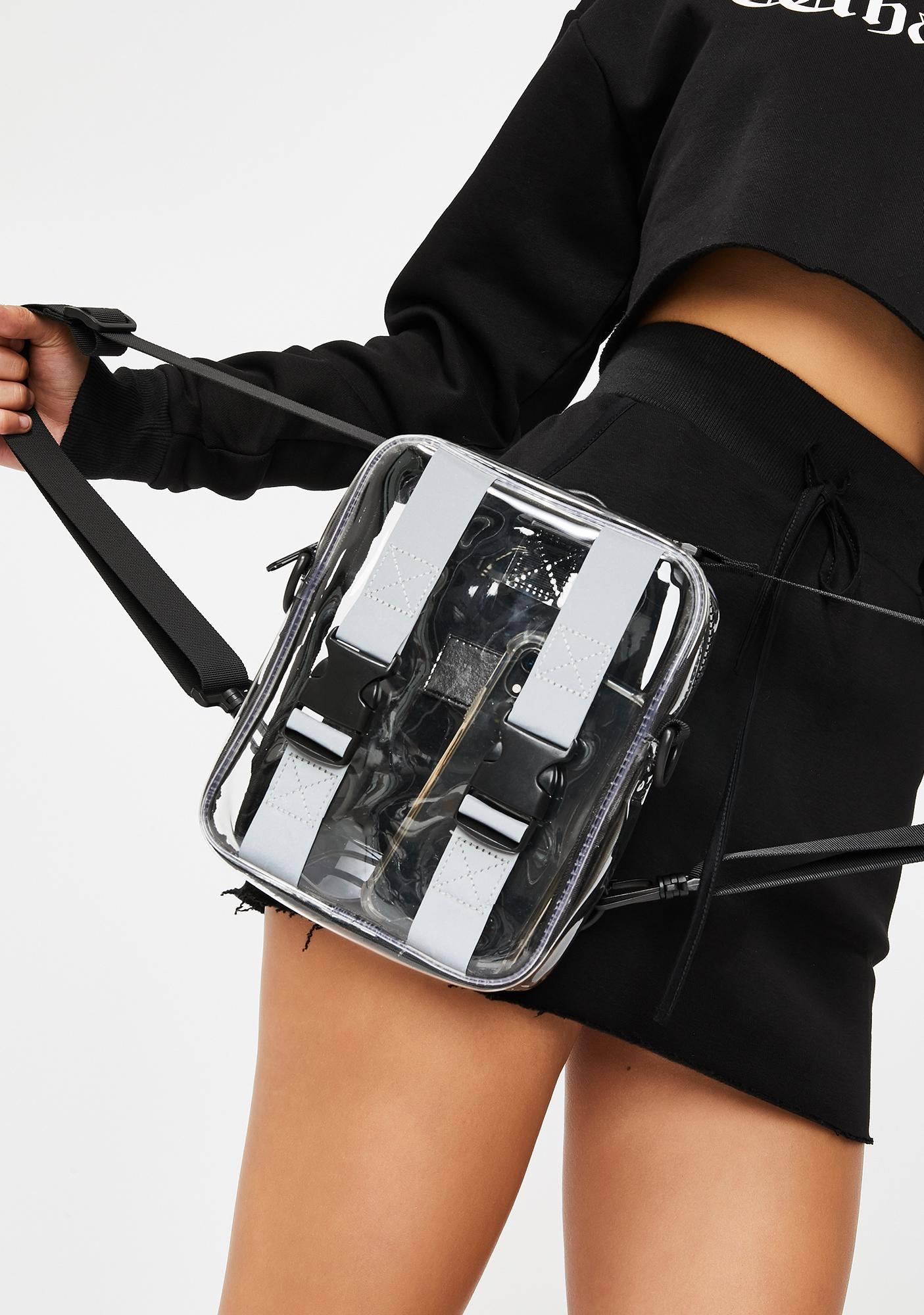 Poster Grl Shine Too Bright Clear Backpack