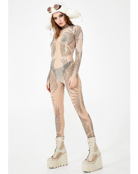 Mega Luminosity Sheer Catsuit