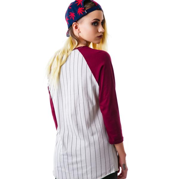 HUF League Raglan