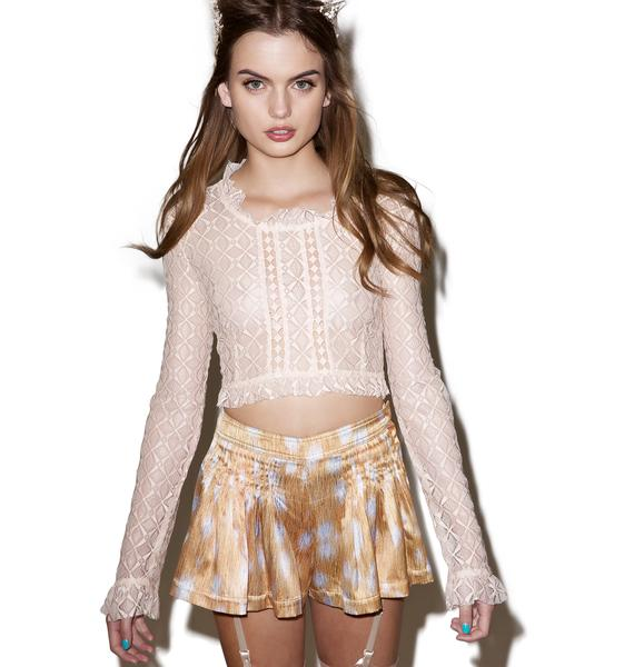 Mille Feuille Crop Top