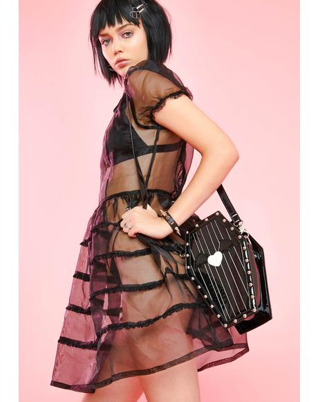 Mortician's Assistant Babydoll Dress