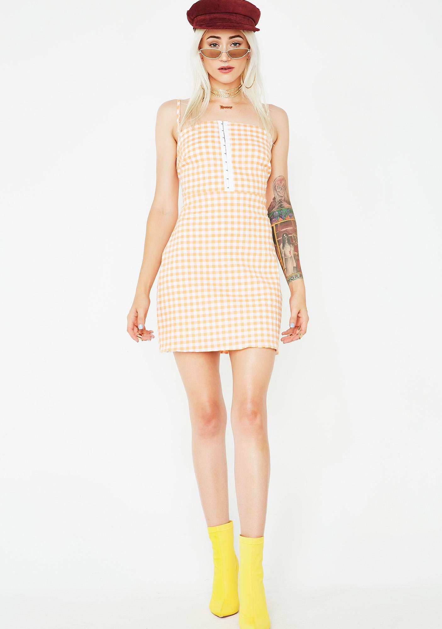 Lovin' You Gingham Dress