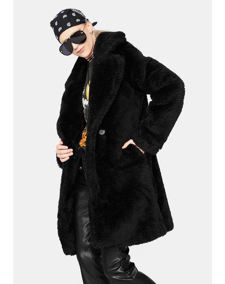 Total Chillout Faux Fur Coat