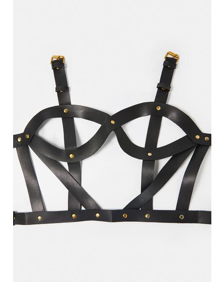Strappy Cup Cutout Harness