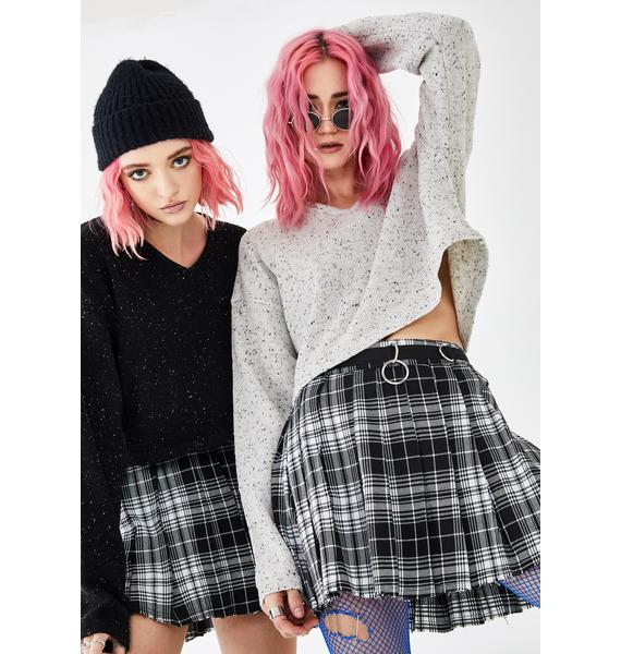 Current Mood Wicked Dress Code Plaid Skirt