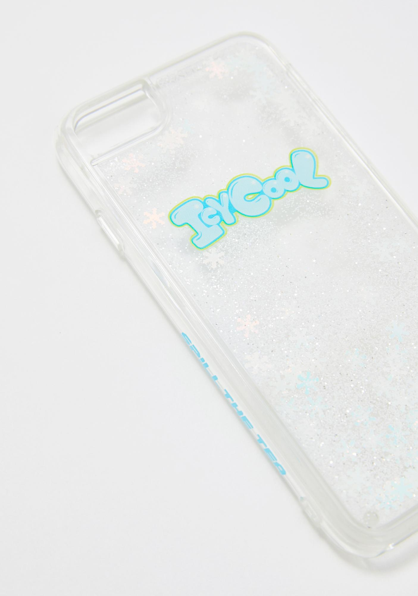 Spill The Tea Icy Cool Liquid iPhone Case
