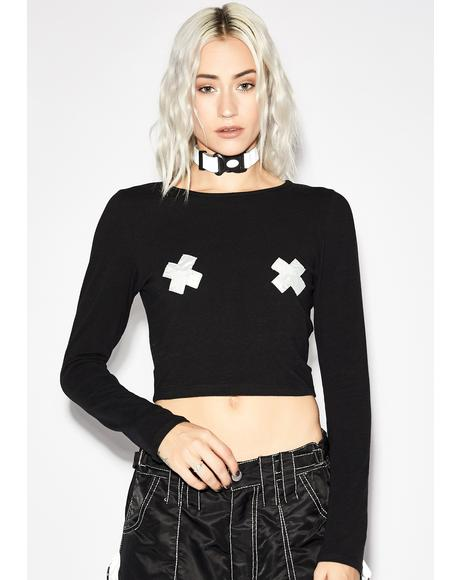Electro Hellraiser Crop Top